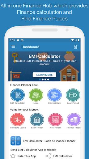 EMI Calculator - Loan & Finance Planner screenshot 1
