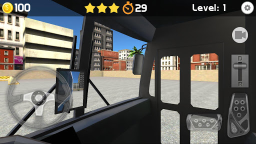 Bus Parking 3D 3 تصوير الشاشة