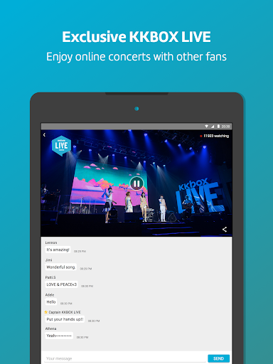 KKBOX - Music and podcasts, anytime, anywhere! 10 تصوير الشاشة
