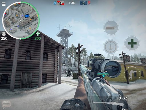World War Heroes: WW2 FPS 16 تصوير الشاشة