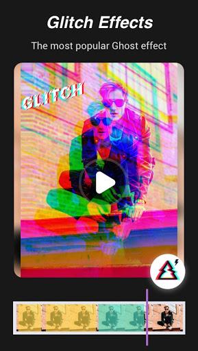 Magic Video Effect - Music Video Maker Music Story screenshot 3