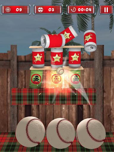 Tin thể đập bể - Hit & Knock Down bóng Shooter 3D screenshot 8