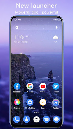 New Launcher 2021 themes, icon packs, wallpapers screenshot 1
