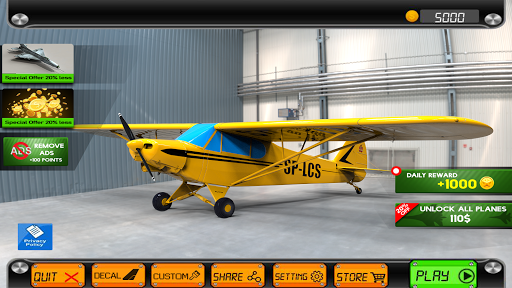 Pilot Flight Simulator 2020: Airplane Flying Games screenshot 14