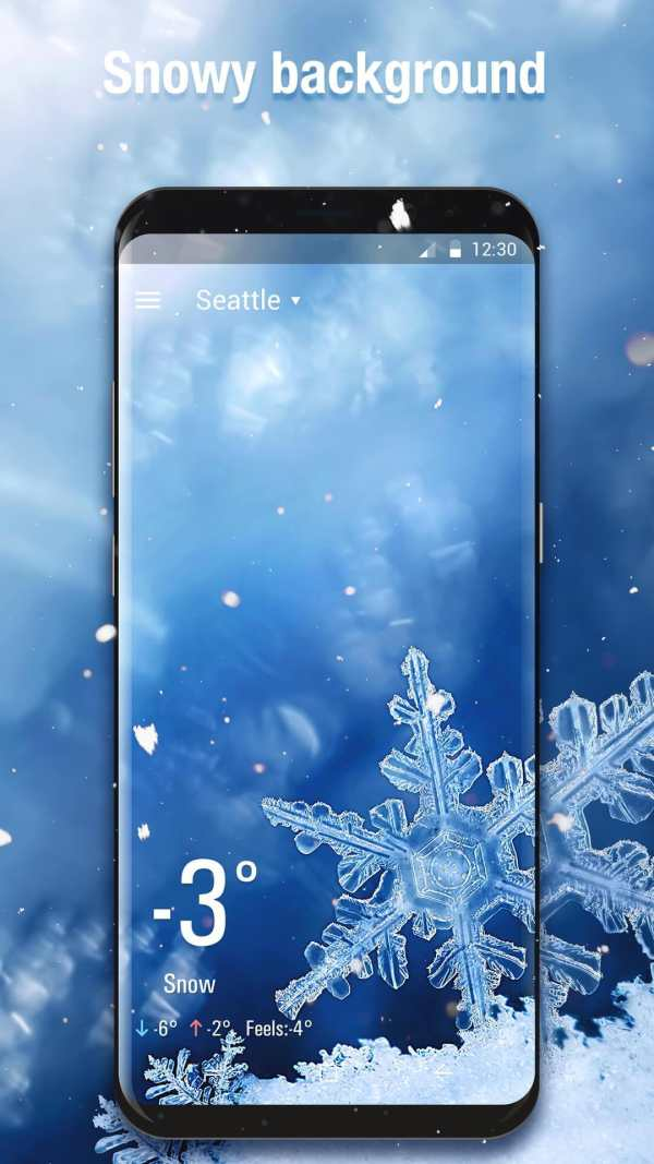3D Weather Live Wallpaper for Free screenshot 2