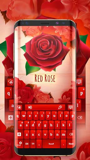 Red Rose Keyboard 2020 screenshot 2