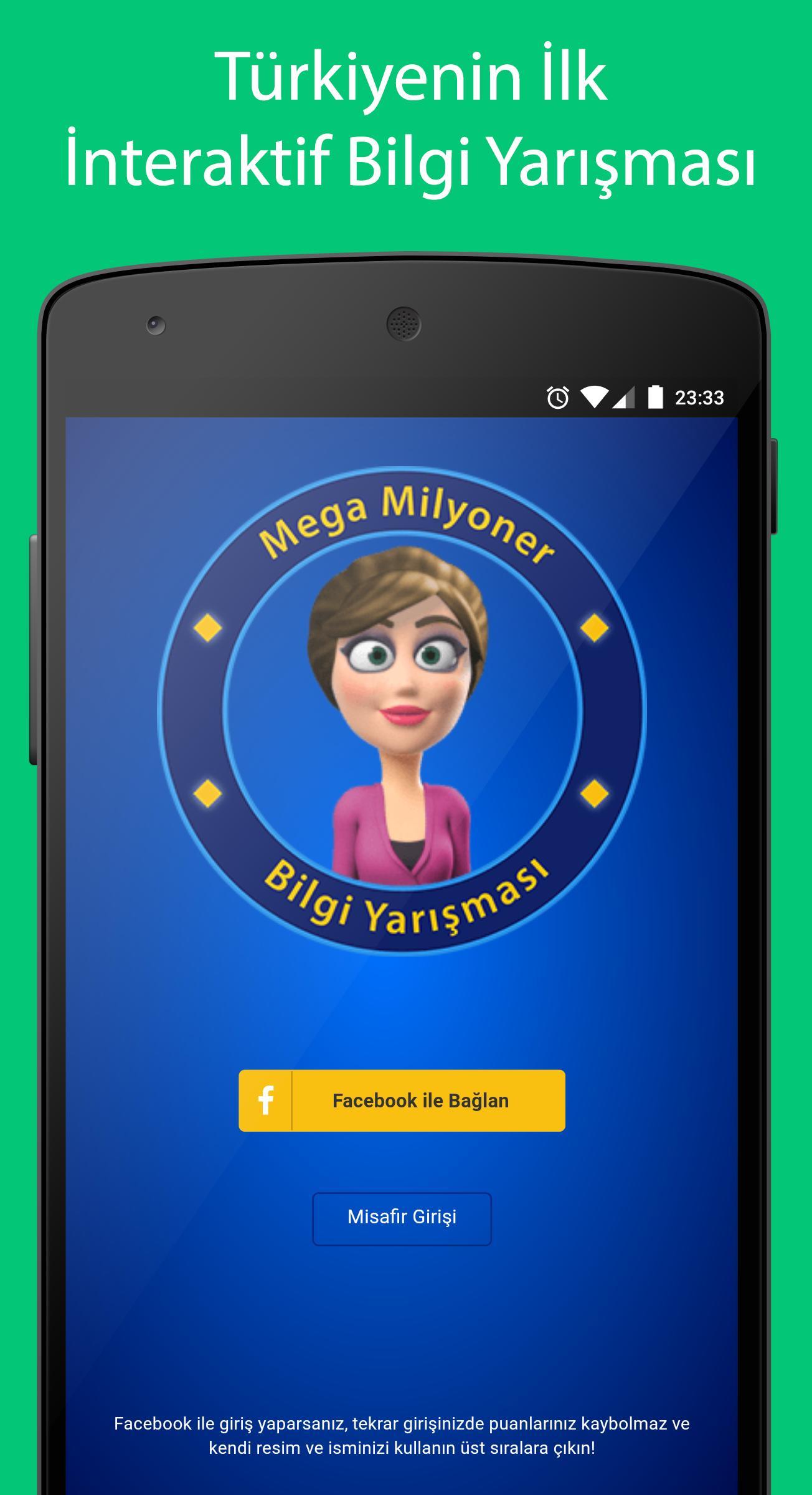 Mega Milyoner 2017 - 50 Bin Soru screenshot 1