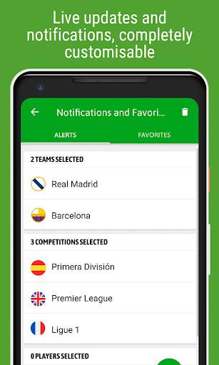 BeSoccer - Soccer Live Score screenshot 5