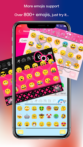 Emoji Keyboard - CrazyCorn 5 تصوير الشاشة