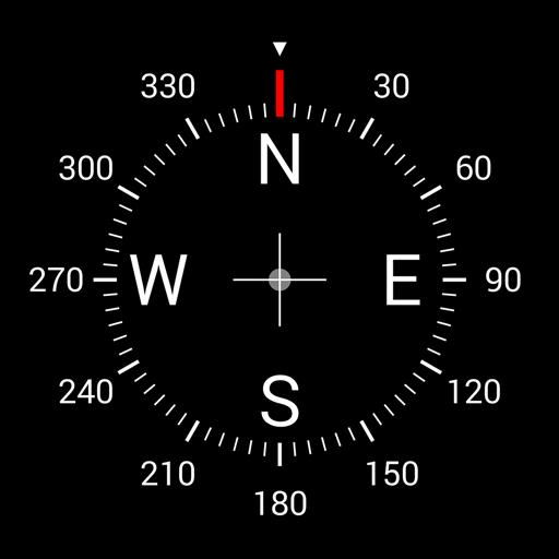 Цифровой компас иконка