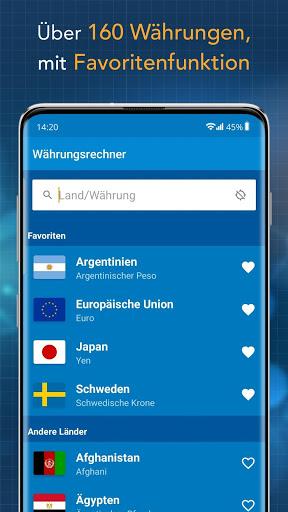 Currency Converter Finanzen100 screenshot 2
