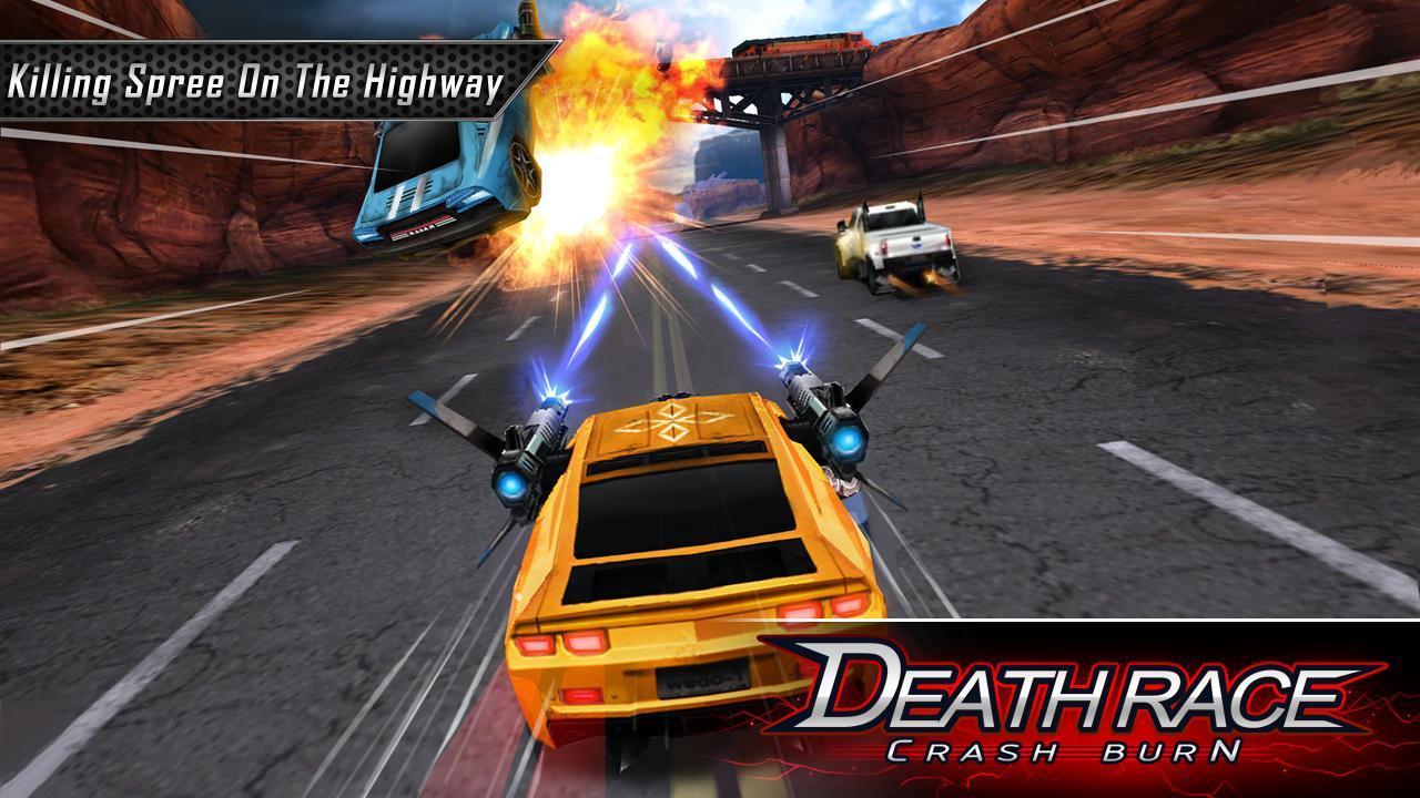 Fire Death Race:Crash Burn 6 تصوير الشاشة