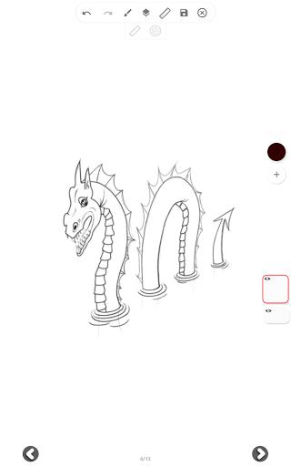 تعليم رسم الحيوانات 10 تصوير الشاشة