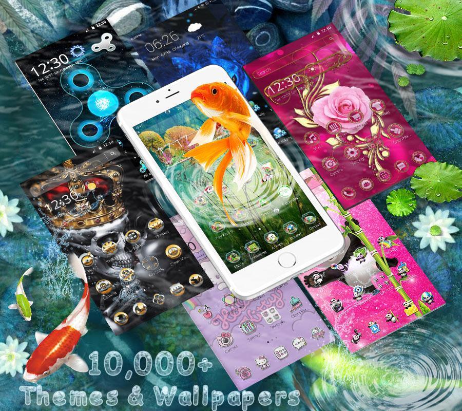 3D Koi Fish Launcher screenshot 4