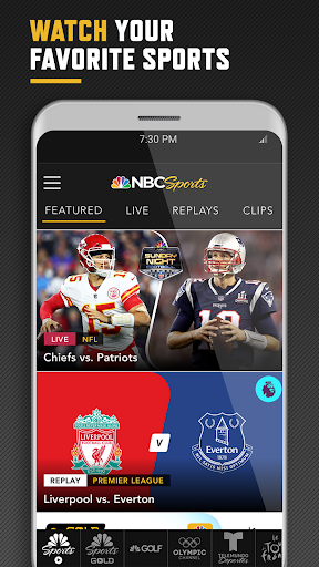 NBC Sports 1 تصوير الشاشة