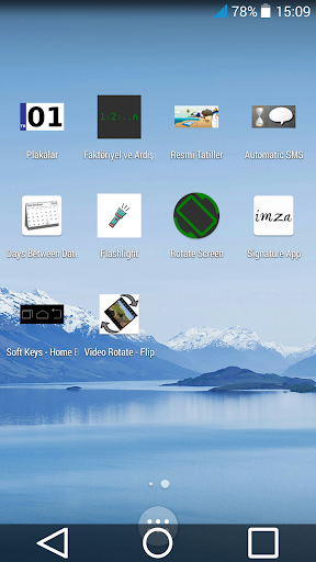 Soft Keys - Home Back Button screenshot 4