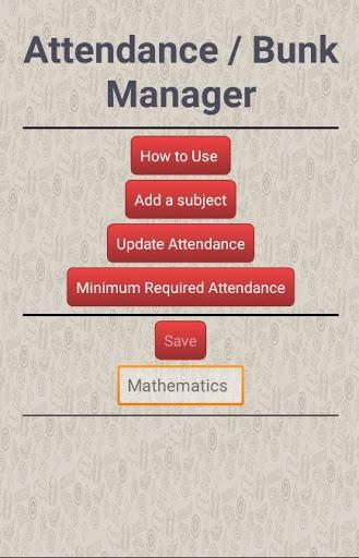 Attendance / Bunk Manager 2 تصوير الشاشة
