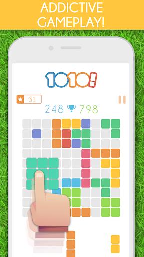 1010! Block Puzzle Game 1 تصوير الشاشة