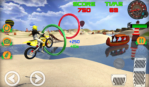 Motocross Beach Game: Bike Stunt Racing screenshot 3