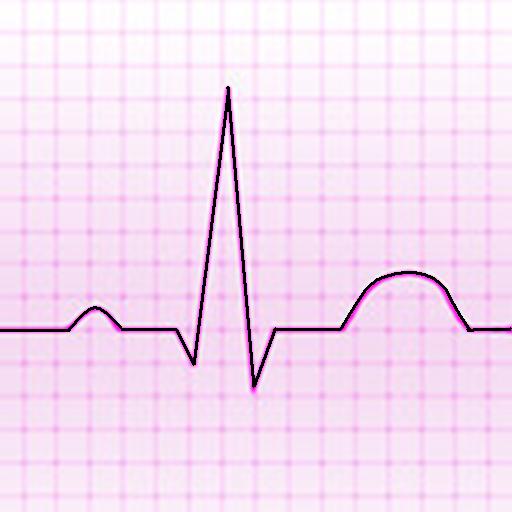 Electrocardiograma ECG Tipos أيقونة
