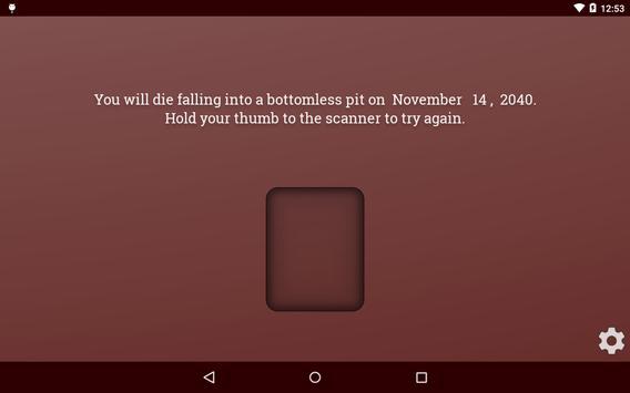 Death Scanner Prank screenshot 9