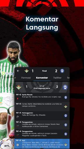 La Liga - Sepak bola dan Hasil Pertandingan screenshot 18