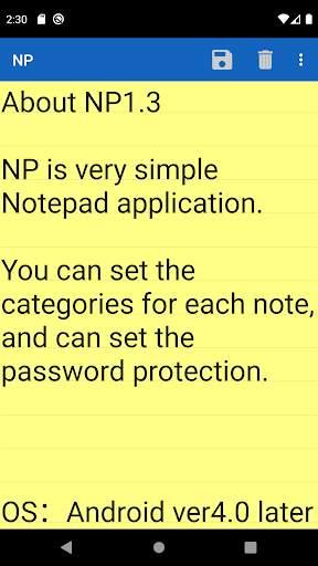 NP-Notepad screenshot 5
