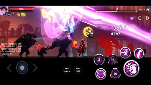 Cyber Fighters: League of Cyberpunk Stickman 2077 screenshot 7