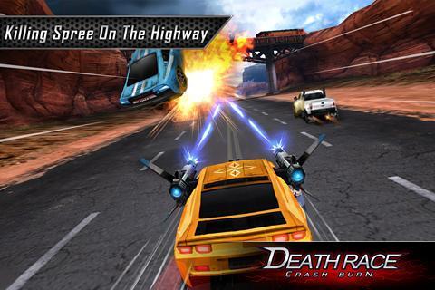 Fire Death Race:Crash Burn 4 تصوير الشاشة
