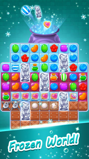Candy Witch - Match 3 Puzzle Free Games screenshot 3