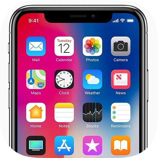 Phone 12 Launcher, OS 14 Launcher, Control Center icon