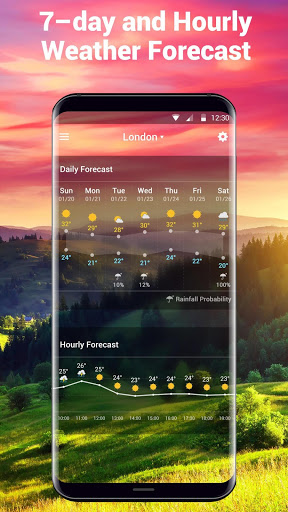 weather and temperature app Pro screenshot 5