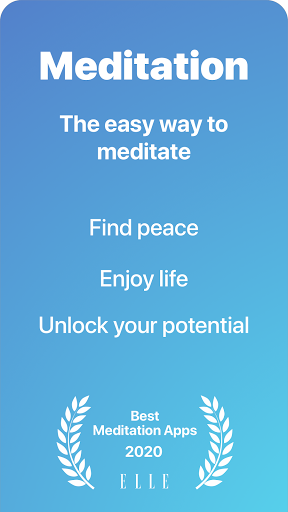 Serenity: Guided Meditation & Mindfulness screenshot 1