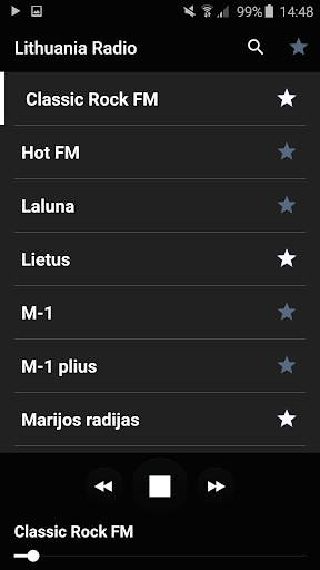 Lithuania radio screenshot 1