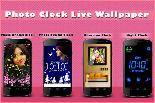 Clock Live Wallpaper - Analog, Digital Clock 2020 screenshot 10