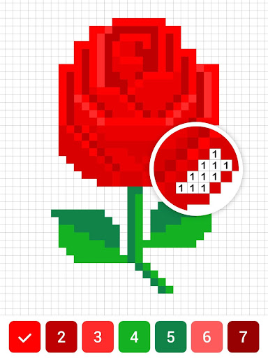 Draw.ly - Color by Number Pixel Art Magic Coloring screenshot 9