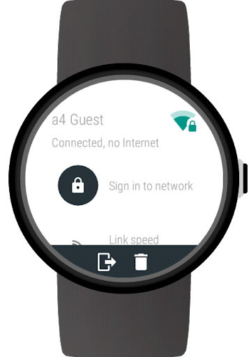 Wi-Fi Manager for Wear OS (Android Wear) screenshot 6