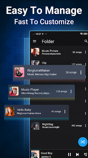 Music Player for Android-Audio screenshot 4