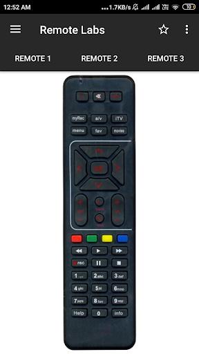 Airtel Remote Control screenshot 1