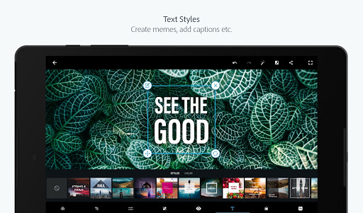 Adobe Photoshop Express:Photo Editor Collage Maker screenshot 16