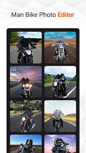 Man Bike Rider Photo Editor скриншот 10