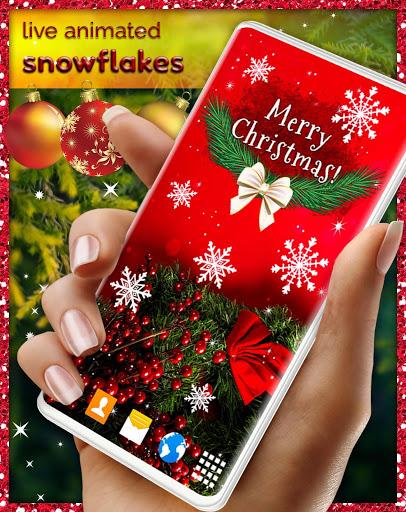 Christmas Wallpapers 🎅 Xmas Tree Live Wallpaper 4 تصوير الشاشة