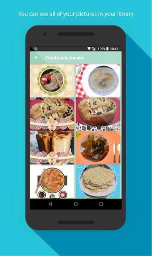 Food photo frames screenshot 6