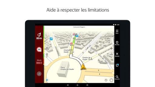 Yandex.Navi - Île-de-France screenshot 12