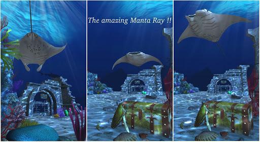 Live Wallpaper - 3D Ocean : World Under The Sea screenshot 3
