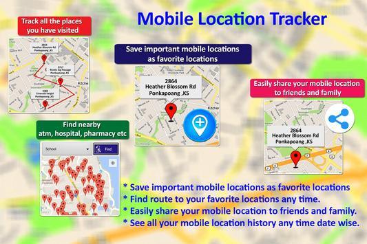 Mobile Location Tracker 2020 9 تصوير الشاشة