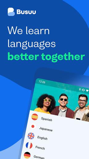 Busuu: เรียนภาษา - อังกฤษ สเปนและอีกมากมาย screenshot 1