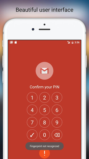 Fingerprint Pattern App Lock screenshot 4