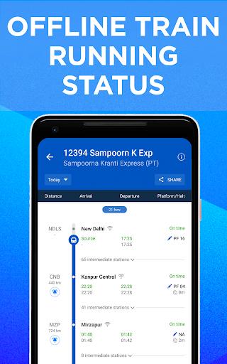 IRCTC Train Booking, PNR Status, Running Status screenshot 2