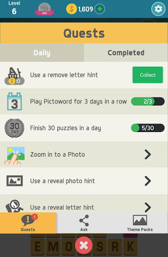 Pictoword: Fun Word Games & Offline Brain Game screenshot 12